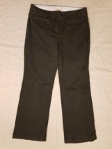 Tommy Hilfiger Womens Pants Khakis Black Front Pockets Career Size 12 - $19.35