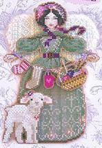 Spirit Of Knitting Angel Chart only cross stitch chart Brooke's Books - $7.20