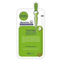MediHeal Teatree Healing Solution Essential Mask Pack Sheets Made in Korea 1PC