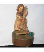 Anri Music Box Reuge Swiss Ein Schafer Madchen Weidete - $75.00
