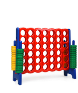 Jumbo 4-to-Score Giant Game Set with 42 Jumbo Rings & Quick-Release Slid... - £174.05 GBP