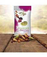 On The Go Roasted & Salted Edamame Bean Trail Mix blended with Cranberri... - $53.57