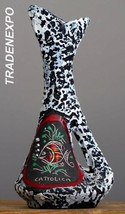 """Tall 10"""" Vintage 70-80's SAN MARINO Vase Italian Pottery Art fat Lava Er... - $24.74"""