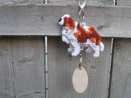 Cavalier King Charles Spaniel dog crate tag or ... - $18.00
