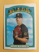 TOPPS HERITAGE 2021 CARD #369 TAYLOR WILLIAMS - $0.99