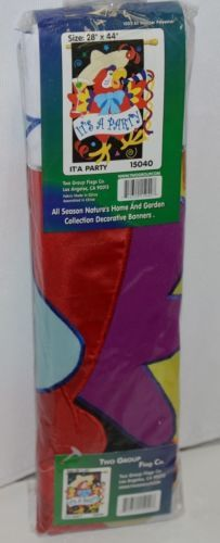 Two Group Flags Co 15040 Its A Party Indoor Outdoor Polyester Flag
