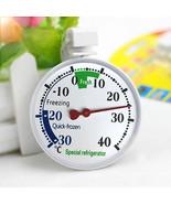 Hanging Refrigerator Freezer Thermometer Fridge Above Below 0 Degrees Te... - $9.90