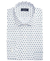 Mens Dress Shirt Reg Fit Stretch Print Large 16.5 34/35 CLUB ROOM $55 - NWT - $9.99