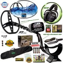 Garrett AT Pro Metal Detector Underwater Version MS-2 Headphones + Digge... - $11.768,22 MXN