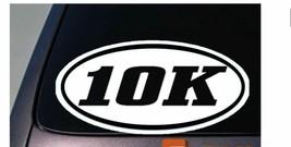 10k sticker decal running car window sticker C143 - $3.53