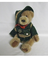 "Talking ""Ranger Rex"" Bear-Forest Friends Collection-Jointed Legs Plush-11in - $4.99"