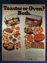 Vintage Magazine Ad Print Design Advertising General Electric ToastROven Toaster - $12.86