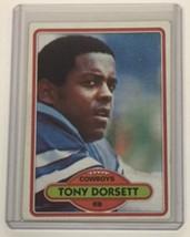 1980 Topps #330 Tony Dorsett Dallas Cowboys Hof C - $4.94