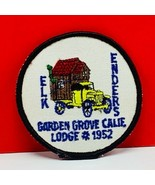 Elks Lodge patch Garden Grove California 1952 badge emblem vintage Ender... - $24.07