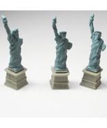 Dollhouse 3 Statue of Liberty Micro-mini Figures Miniature - $3.73