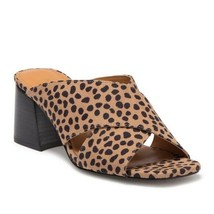 NINE WEST Glimpse2 Cheetah Print Sandals sz 7 M New - $28.84