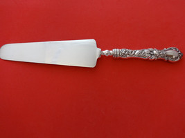"""Floral by Wallace Plate Silverplate Cake Server Narrow HH 10 1/8"""" - $59.00"""