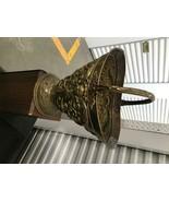 Copper ash can cinder pot or hopper vase REPOSSEE w Handle - $74.24