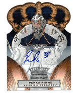 Pekka Rinne signed 2010-11 Panini NHL Trading Card #35- #55- 029/100 (Na... - $68.95