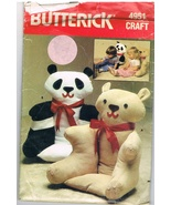 Butterick 4951 Soft Bear Shaped Armchair Sewing Pattern - $8.00