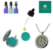 Natuxia Get This Elegant Pendant Aromatherapy Diffuser with Essential Oils - $179.51