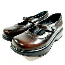 Dansko Women's Mary Jane Shoes Size 36 Brown Leather Made In Portugal - $39.59