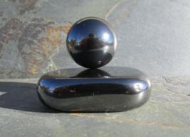 2 Magnetite Stone Set - STRONG Magnetic Hematit... - $25.00