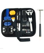 Watch Repair Tool Kit Opener Link Remover Spring Bar Free Hammer w/ Carr... - $19.99