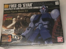 New 1999 GYAN Kit YMS-15 Mobile Suit 1/144 Robot Action Figure Model Kit... - $21.78