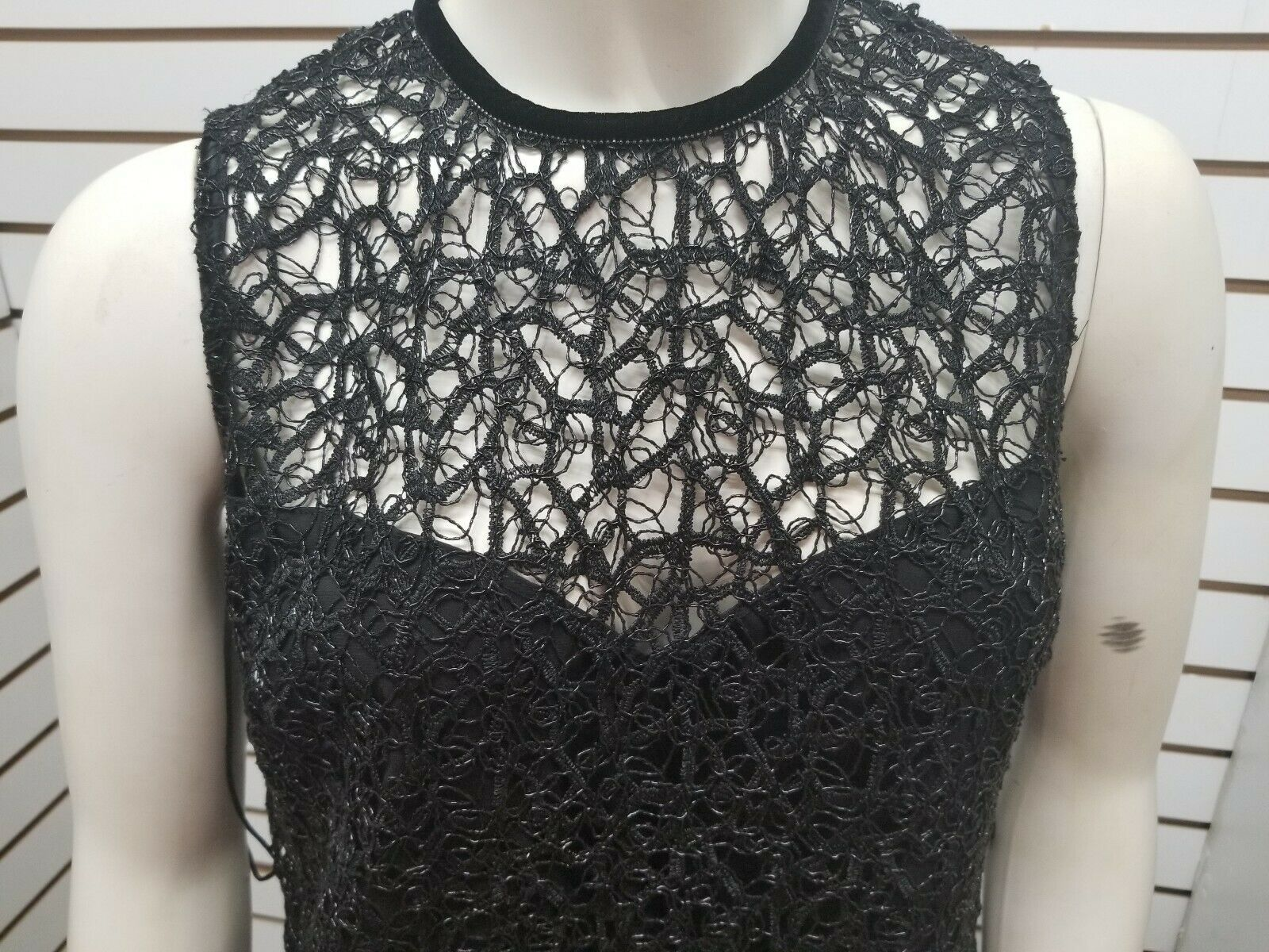 Elie Tahari Mirage Dress black size 4