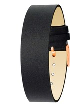 Moog Paris Black Fabric Bracelet for Women, Satin Pattern, Pin Clasp, 18... - $46.65