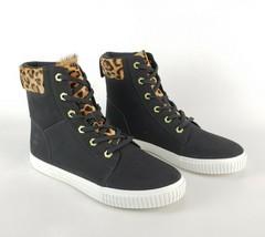 "Timberland Women's Skyla Bay 6"" Leopard / Black Leather 9.5 Ankle Boot A... - $58.19"