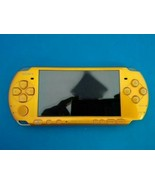 PlayStation Portable PSP Bright Yellow PSP-3000BY Sony Game Console Only... - $86.93