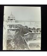 Vtg Magic Lantern Glass Slide Photo India Agra Fortress - $12.30