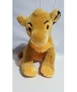 "Vintage Disney Parks Plush Simba Stuffed Animal 1993 The Lion King 15""  - $29.09"