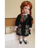 "Royalton Collezione 18 "" Pollici Bambola di Porcellana Colleen Verde Abi... - $39.54"