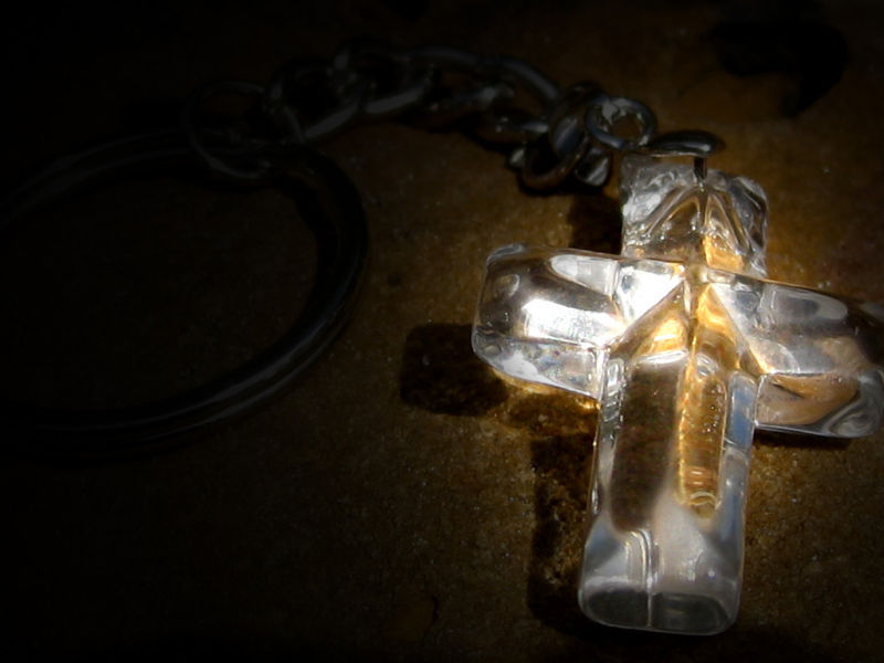 Primary image for Free with 50.00 purchase Crystal cross of a Million Miracles Angelic Portal