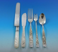 Orchids by Towle Sterling Silver Flatware Set 12 Service 68 pcs Multi-Mo... - $6,995.00