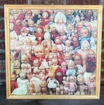"Creepy Dolls Framed Puzzle - Hallmark - Worked wood frame 22 5/8"" x 22 5/8"" - $70.13"