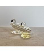 """Vintage Crystal Frog Hand Made 1.5"""" - $16.40"""