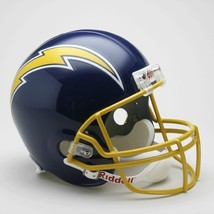 Los Angeles Chargers Helmet Riddell Replica Full Size VSR4 Style 1974-1987 Throw - $118.50