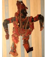 Traditional indian shadow puppets art 19th century collectible art decor... - $777.30