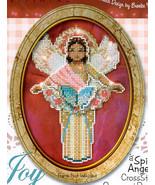 Joy Spirit Angel Ornament chart only cross stitch chart Brooke's Books - $5.40