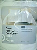 """White Solid Down Alternative Comforter Full/Queen Made by Design 90"""" x 94"""" SEAL  image 4"""