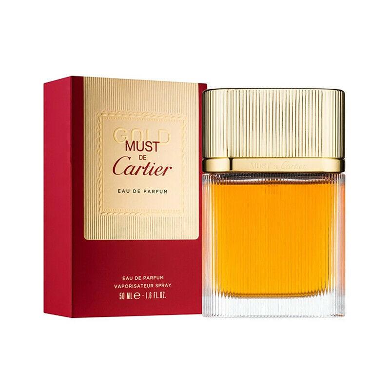Cartier must de cartier gold perfume 1.6 oz
