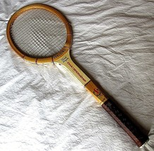 Vintage Spalding Pancho Gonzales Championship Wooden Tennis Racket  - $19.79