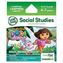 LeapFrog Explorer Game: Dora the Explorer Dora's Worldwide Rescue  - $24.00