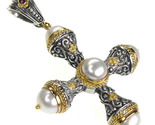 02005251 gerochristo 5251 gold silver byzantine imperial cross 1 thumb155 crop
