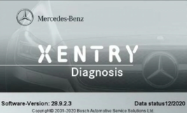 Xentry Passthru 12.2020 for j2534  scacn online mercedes diagnostic tools - $19.99