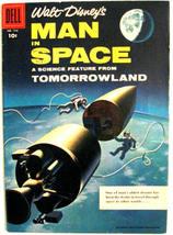 Four Color Comics# 716 Aug 1956 Walt Disney's Man In Space Variant Ed: 9.0 VF-NM - $95.00